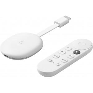 Chromecast with Google TV 4K HDR- Snow