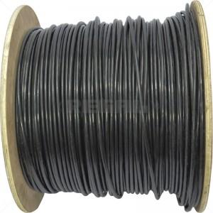 Cable - CAT6E S/UTP Outdoor UV Black / 500m