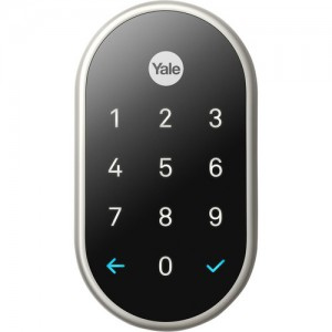 Google Nest x Yale Lock with Nest Connect - Satin Nickel