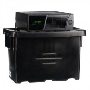 Geewiz 1200VA Inverter Trolley + 100AH Battery (4 HOUR BATTERY LIFE) KIT - 720W