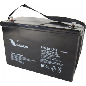 Vision Fully Sealed Battery 12v 100Ah 6FM100P-X