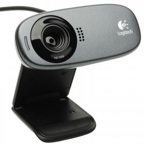 Logitech C310 960-000586 HD Webcam 720P/1080i Digital HD, Built-in Mic with RightSound Technology - USB