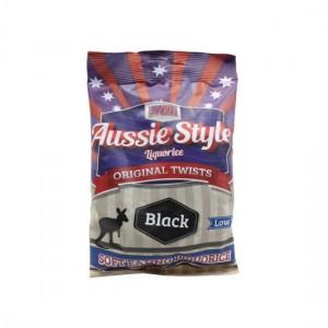 Knocker Doodle Candy - Aussie Style Black Liquorice 75gm
