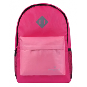 Playground Hometime Colourblock Backpack - Fusia/Pink