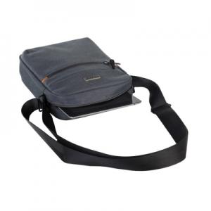 Black Freedom 10.1 Shoulder Sling Bag - Grey