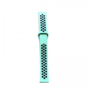 Fitbit Versa Silicone Watch Strap -Green and Blue