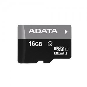ADATA Premier 16GB microSDHC/SDXC UHS-I U1 Memory Card with One Adapter