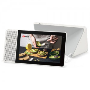 """Lenovo 8"""" Smart Display (White and Soft-Touch Gray)"""