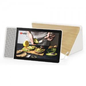 """Lenovo 10.1"""" Smart Display (White and Bamboo)"""