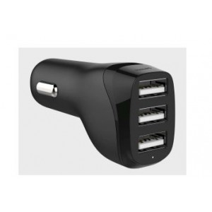 Philips Triple Ports Car Charger 5V/4.8A
