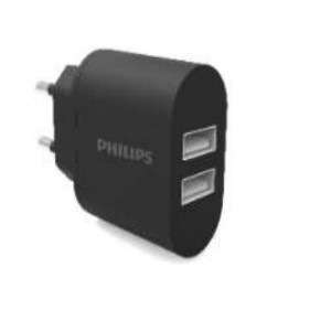 Philips Dual Ports Wall Charger 5V/3.1A