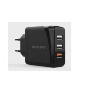 Philips Triple Ports QC Wall Charger 30W