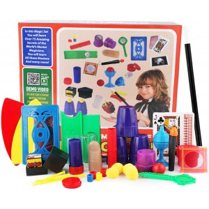 Kids Magic Set with 75 Magic Tricks