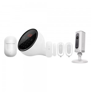 Smanos Wireless Alarm System Kit Wifi Camera, W100+IP6