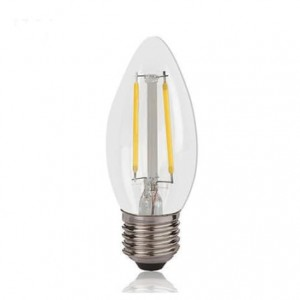 Forest Lighting LED C35 Filament Candle  4W 400LM (6500 CCTK ) E27