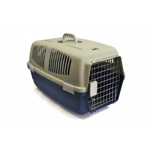 Rex - Pet Travel Case - Medium - Grey