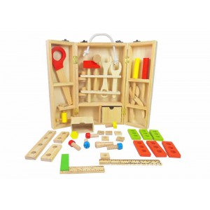 Wooden Tool Carry Case