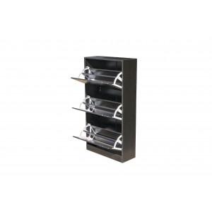 Fine Living Shoe Cabinet - Classic 3 Tier - Wenge