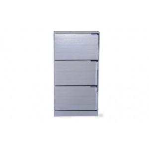 Fine Living Shoe Cabinet - Classic 3 Tier - Maple