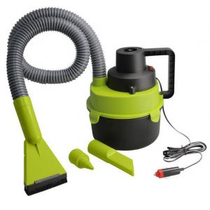 Wet/Dry Car Vacuum - Green/Black