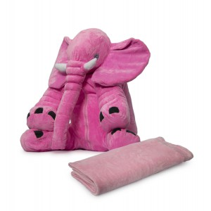 Nuovo - Ellie Cushion with Blanket - Light Pink