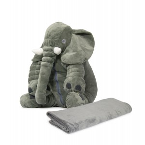 Nuovo - Ellie Cushion with Blanket - Grey