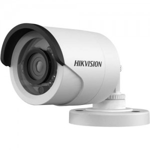 Hikvision DS-2CE16D0T-IR Outdoor 1080p Day & Night Turbo Bullet Camera with 3.6mm Fixed Lens with CVBS