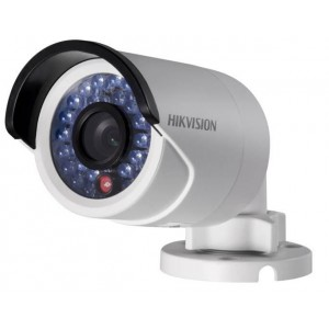 Hikvision 2MP IR bullet ip camera, 120dB WDR backlight compensation 1080P mini cctv camera POE