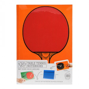 Table Tennis Note Book Set -3pc