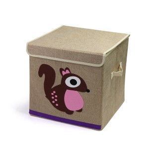 Storage box-Animal Canvas Tidies - Squirrel