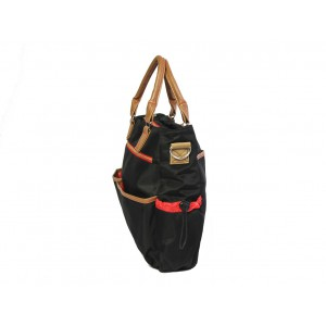 Nuovo - Diaper Bag - Black/Brown