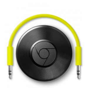 2015 Google Chromecast AUDIO Digital Media Streamer