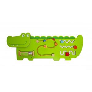 Jeronimo - Wooden Wall Activity Crocodile