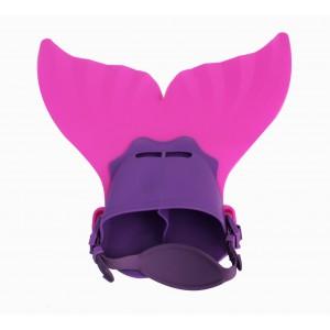 Mermaid Flippers - Small - Pink/Purple