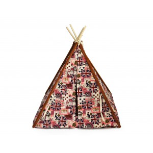 Rex - Pet Teepee Tent - Flag