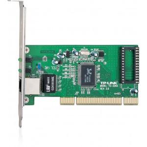 TP-LINK Gigabit PCI Network Adapter, Realtek RTL8169SC, 10/100/1000Mbps, RJ45 Port, Auto MDI/MDX