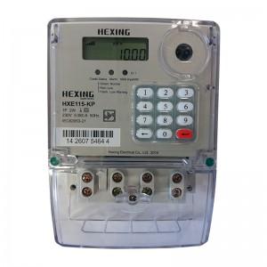 HEXING Single Phase Keypad Prepaid Electricity Meter (Ideal Prepaid)