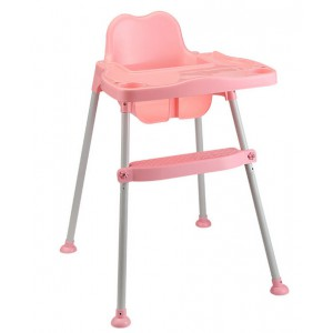 Nuovo High Chair - Pink