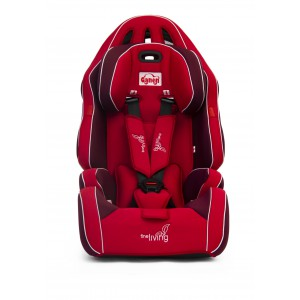 Fine Living 1300086 Car Seat - Red/Maroon