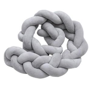 Nuovo 1300089 Knot Cot Bumper - 2M - Grey