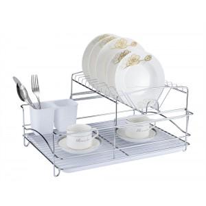 Fine Living Balcony Dish Rack - White