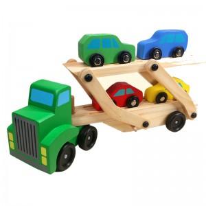 Jeronimo Double-Decker Wooden Truck