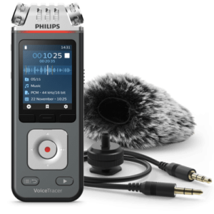 Philips DVT 7110 Audio Recorder with Video-shooting Kit