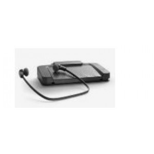 Philips ACC 2310 USB Foot Pedal Together with the LFH 334 Headset Combo