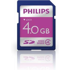 Philips LFH 9004 4 GB Speed Class 4 Secure Digital Card