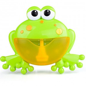 Frog Bubble Maker Bath Toy