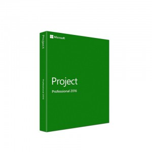 Microsoft Project Professional 2016 - FPP - 32/64-Bit DVD-1 License DVD for 1 PC