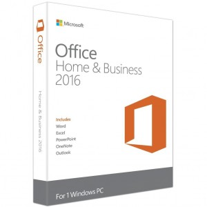 Microsoft Office 2016 Home & Business Software - FPP - for Windows