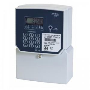 LANDIS GEMLITE Integrated Single Phase Prepaid Electricity Meter-80Amp (Ideal Prepaid)