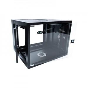 ModRac Wallbox 12U 700 incl 100 Base - Black